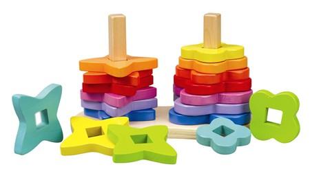 HAPE E0406 Double rainbow stacker E0406