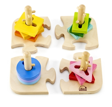 HAPE E0411 Creative Peg Puzzle E0411