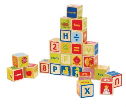 HAPE A B C Blocks E0419
