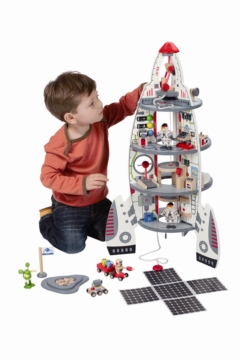 HAPE E3003 Discovery Spaceship & Lift Off Rocket E3003