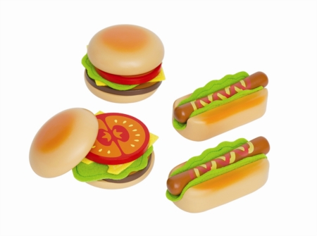HAPE Hamburger and Hotdogs E3112