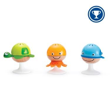 Hape Stay-Put Rattle Set E0330 Rattle set for babies