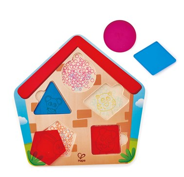 Hape Who's In The House Puzzle E1613