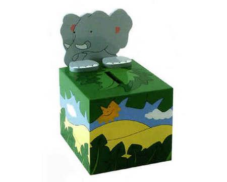 THE TOY WORKSHOP - Money Box - Elephant