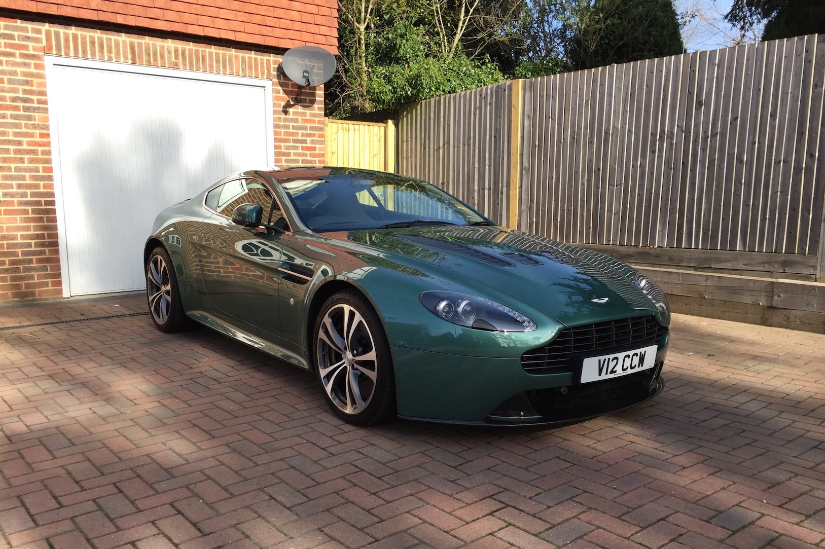 This one  wink. green DBS from Top Gear   Page 1   Aston Martin   PistonHeads