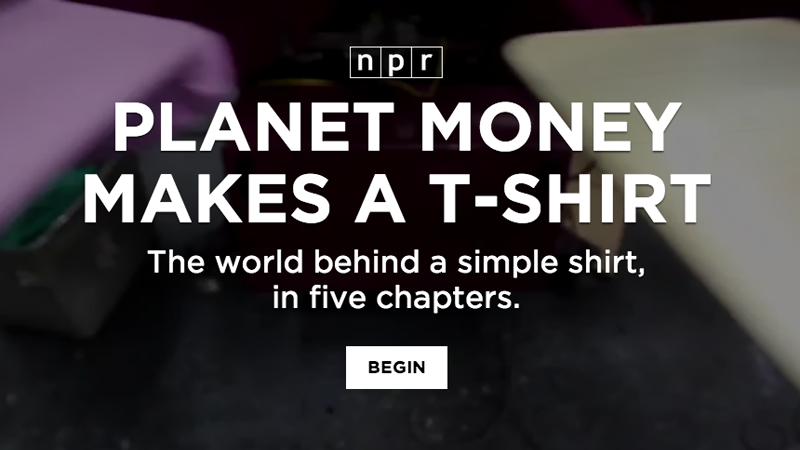 NPR: Planet Money Makes a T-Shirt