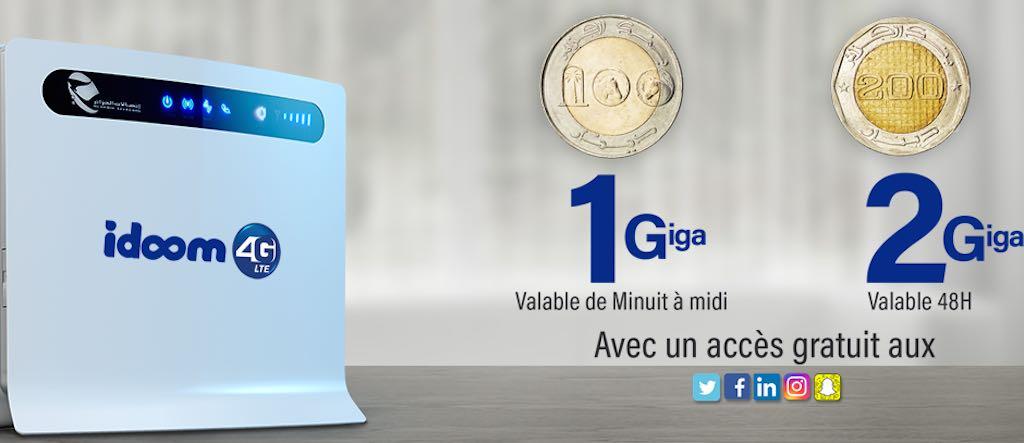 algerie telecom 4g promo