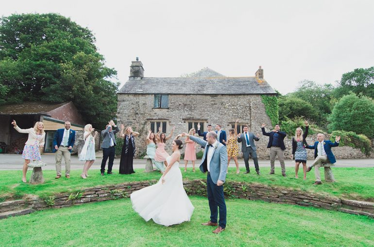 Intimate elopements at Pengenna Manor