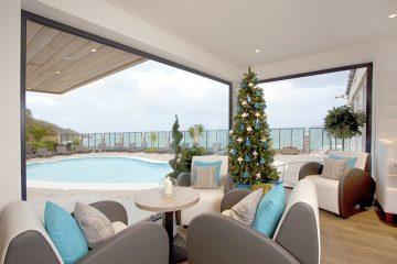 Cornwall wedding venue Carbis Bay Hotel Christmas spa event