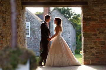 launcells barton cornwall wedding venue hosts its first wedding