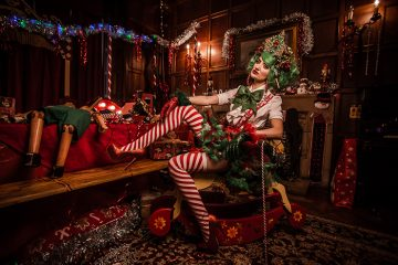 festive photo shoot by the prop factory