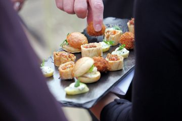the rosevine shares their ultimate wedding menu on cornwall and devon wedding inspiration blog