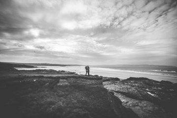cornwall engagement shoot on wedding blog pasties and petticoats