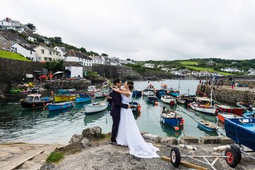 homespun village hall wedding coverack cornwall
