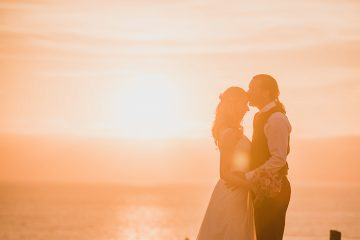 mullion cove wedding by stewart girvan