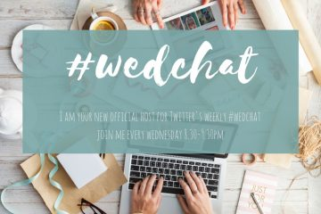Introducing your new twitter #wedchat host!