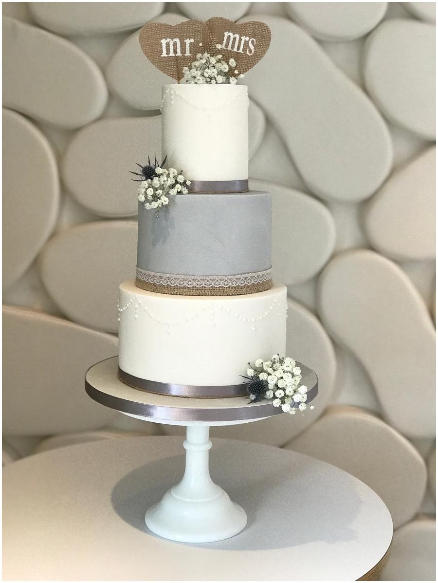 Wedding planner bride Jenny Wren on choosing her wedding cake ...