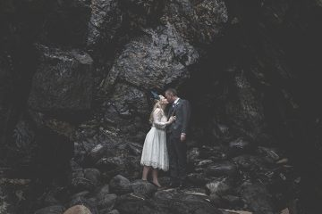 BoHo Cornwall elopement by Thomas Frost Photography
