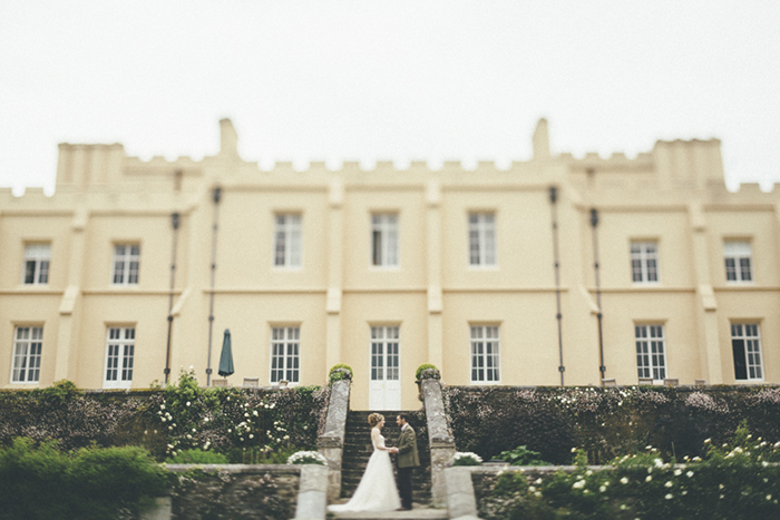 pentillie castle wedding