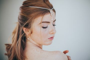 bridal beauty shoot