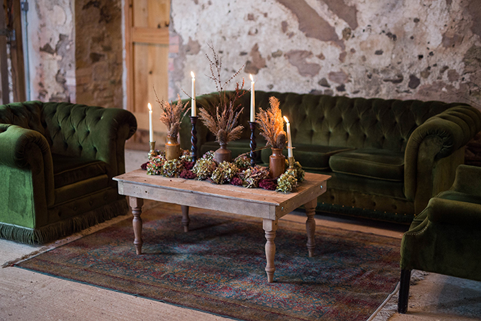 prop factory autumnal wedding inspiration ashridge court farm
