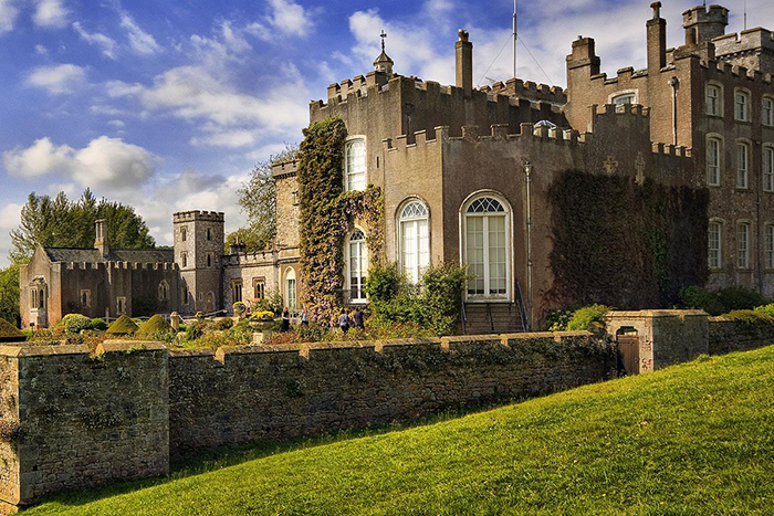 powderham castle wedding showcase