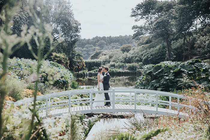 trebah garden wedding