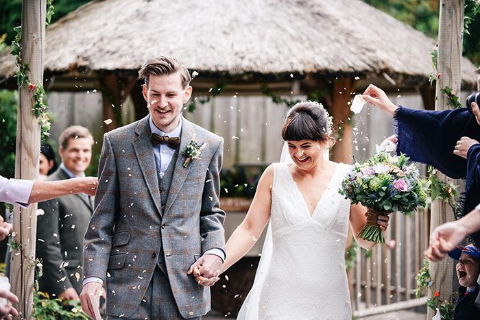 yurtcamp devon wedding - featured