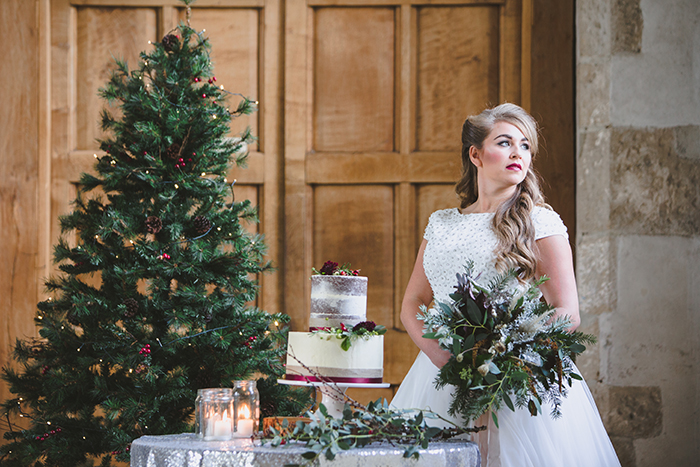 dartington hall christmas wedding