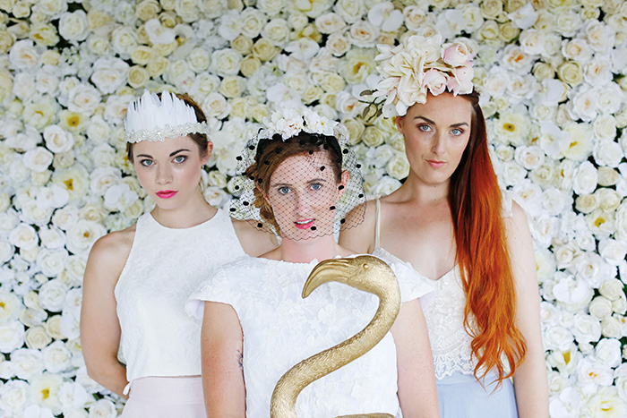 bridal headwear by Holly Young