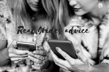 advice from real brides