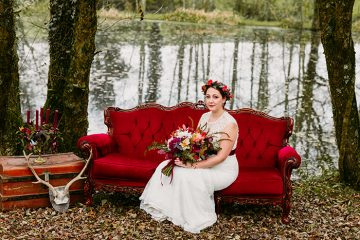 prop factory wedding by the lake