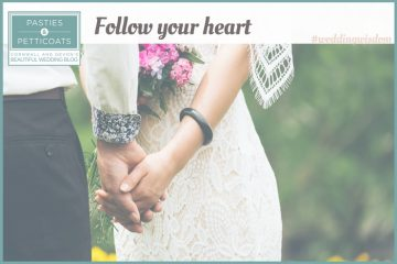#weddingwisdom: follow your heart.