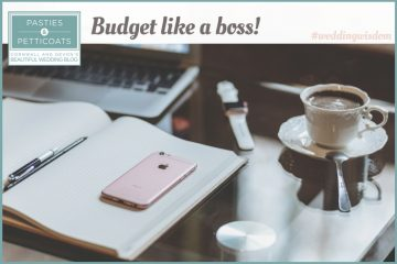 Real brides wisdom: budget like a boss!