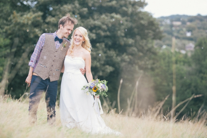 the green cornwall wedding