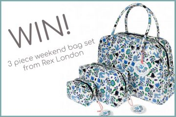 This gorgeous 3 piece weekend bag set is up for grabs!