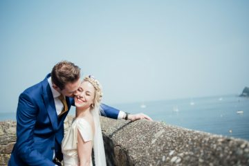coastal wedding cornwall