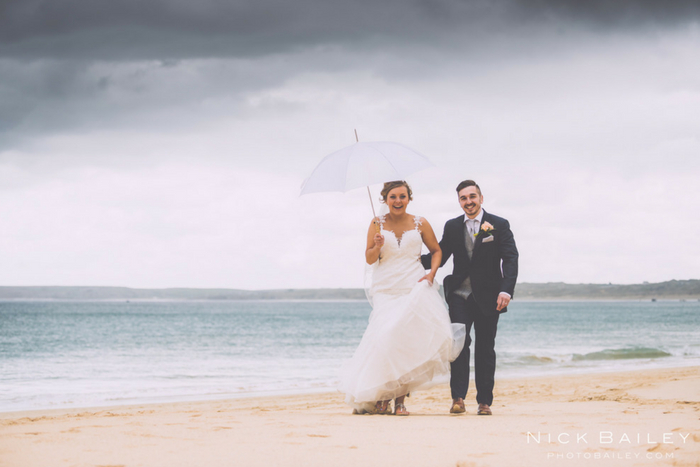 Beth & Andy's Carbis Bay wedding {images by Nick Bailey}
