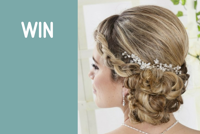 WIN: a beautiful headpiece from Lace & Favour