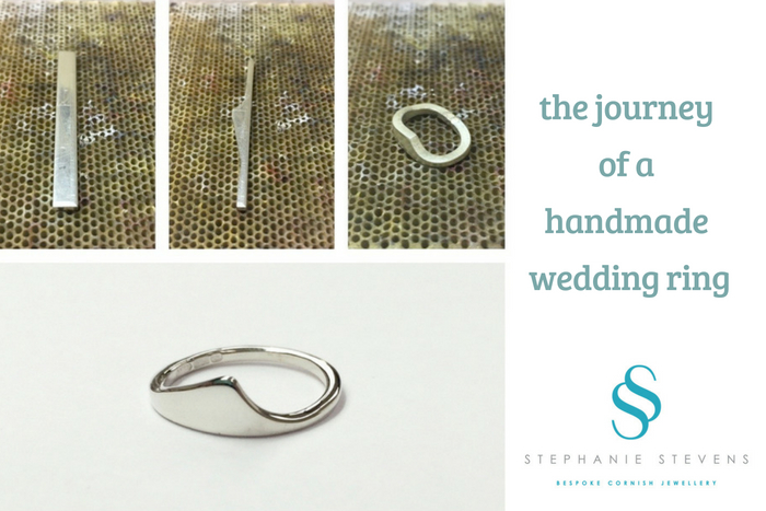 The journey of your handmade wedding ring with Stephanie Stevens Jewellery