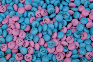 Chocolate heaven wedding favours with My M&M's ®