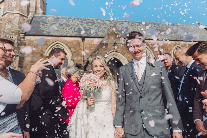 Laura and Rob's Sidmouth wedding {images by Jennifer Jane Photography}