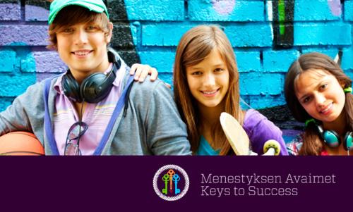Menestyksen Avaimet -valmennussisältö auttaa tukemaan nuorten hyvinvointia