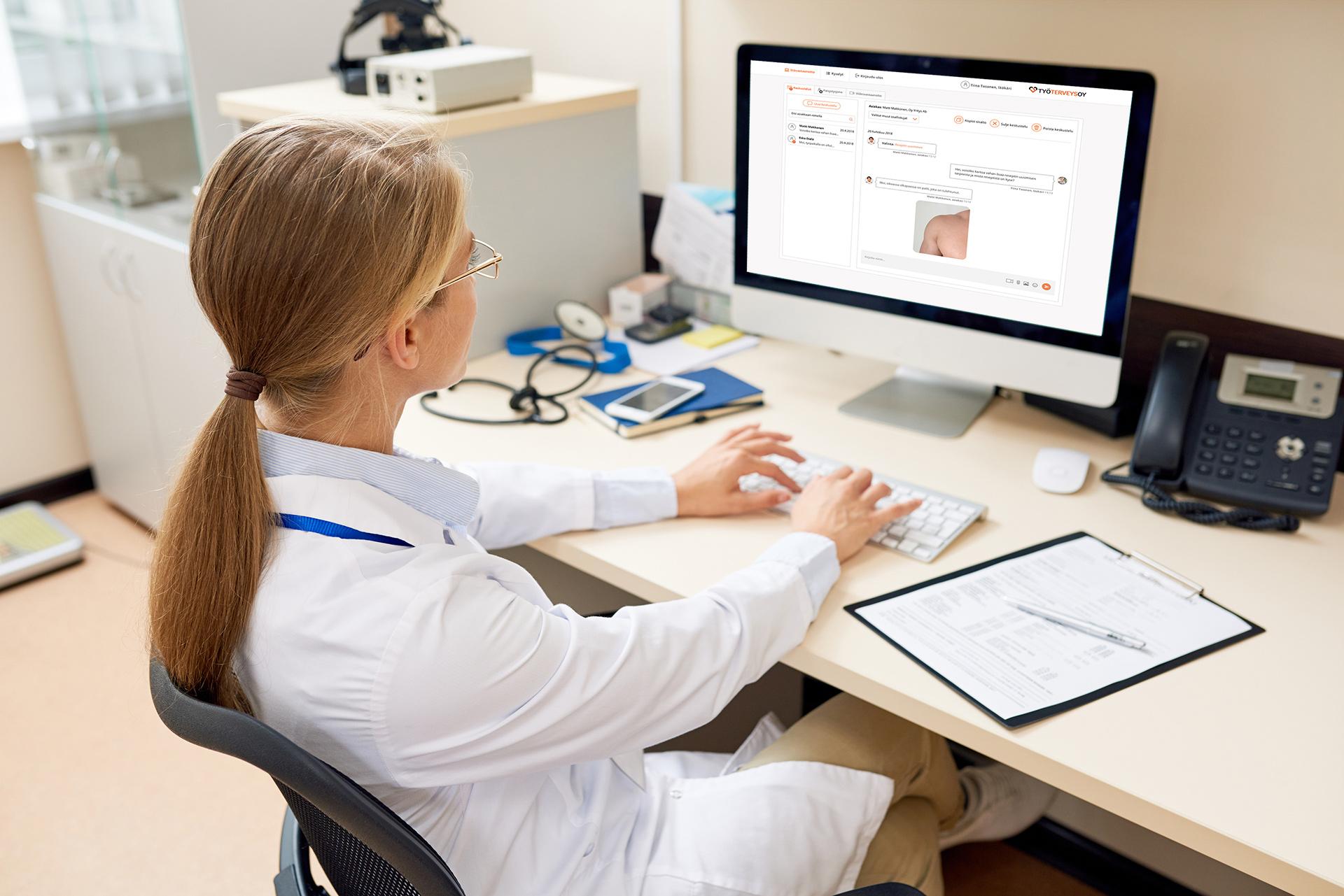 Moderni terveyden palvelupolun kokonaisratkaisu jättää enemmän aikaa ihmiseltä ihmiselle tapahtuvaan kohtaamiseen