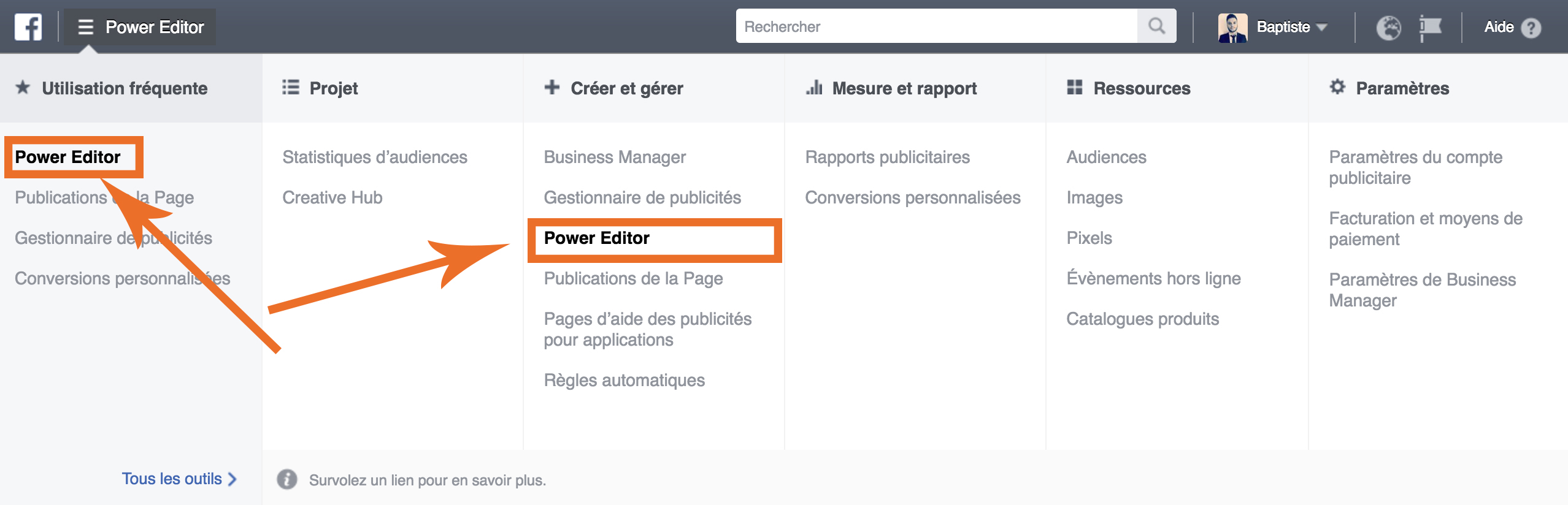 accedez-au-power-editor-comment-utiliser-outil-split-testing-blog-social-media-pro