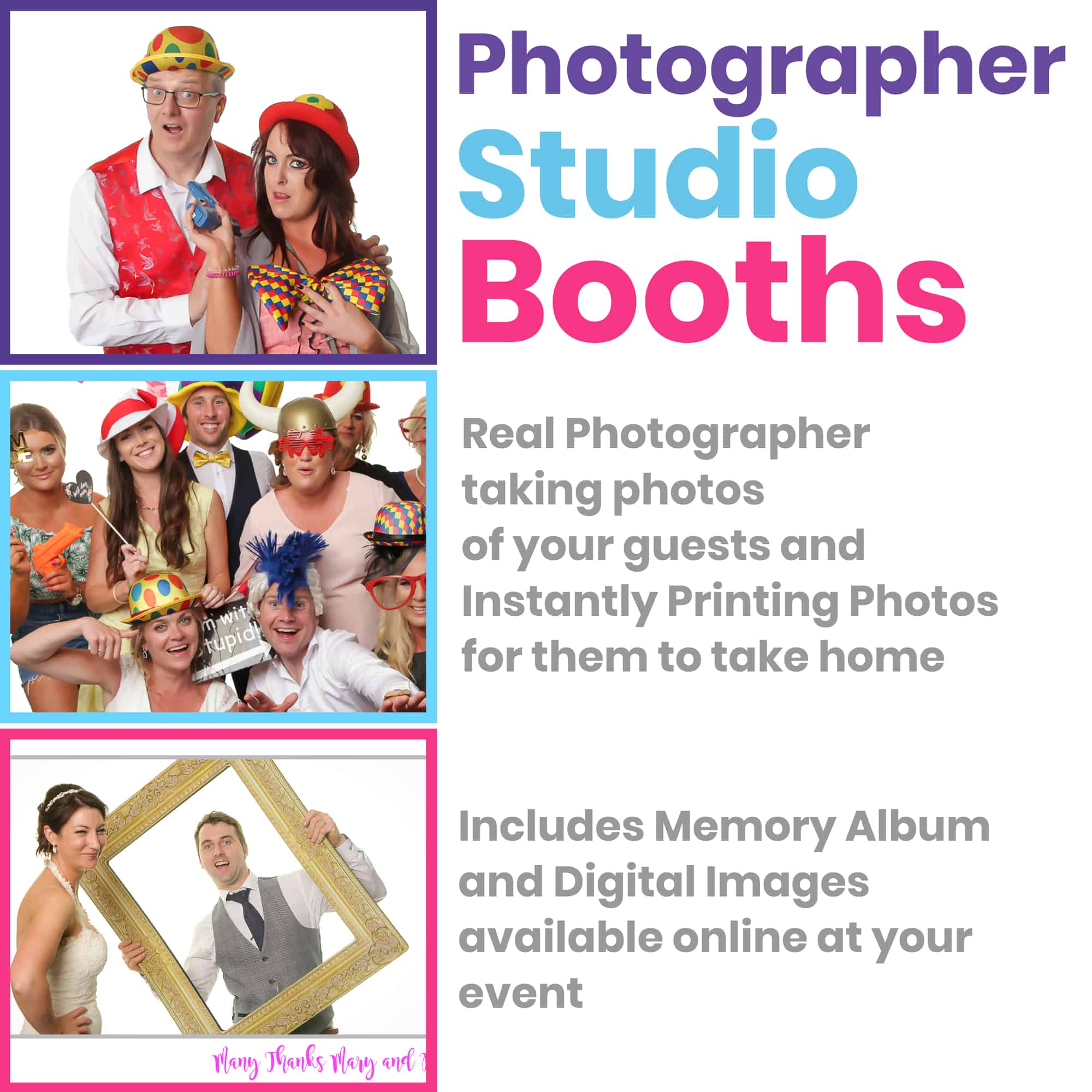 StudioBooth Square1 | Photographer Studio Booth | Frans Photo Booth Services Ireland