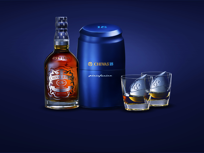 Chivas 18 by Pininfarina Ice Drop 2