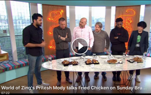 Oven fried chicken recipe from channel 4 world of zing as seen on channel 4 sunday brunch on 23 april 2017 our flavour guru pritesh modys oven fried chicken recipe provides a healthy twist on traditional fried forumfinder