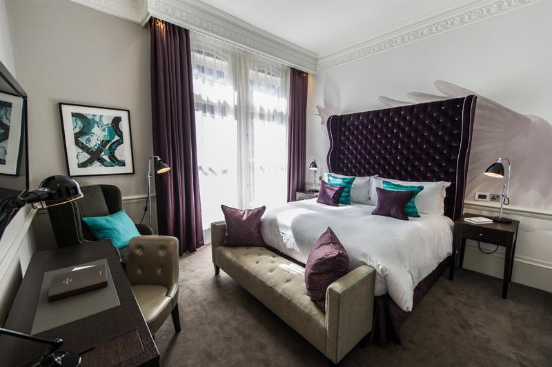 The Ampersand Hotel bedroom 2