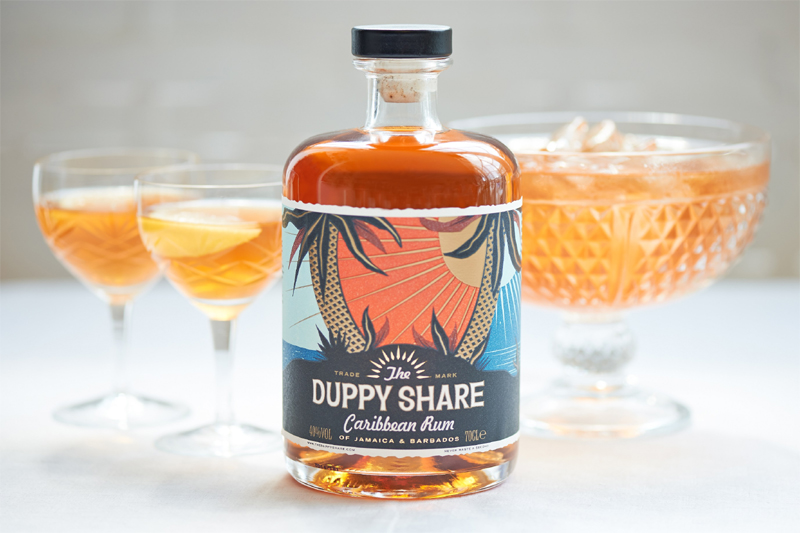 Old Fashioned Duppy Cocktail